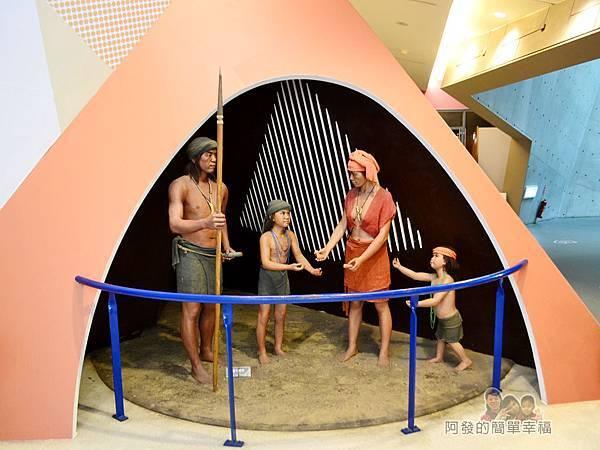 十三行博物館33-十三行人物塑像