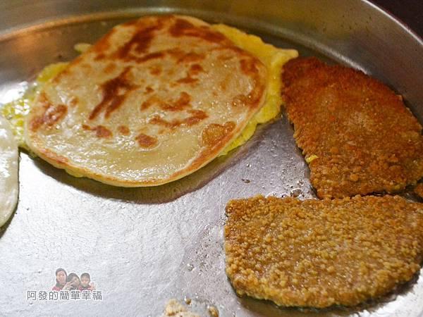 2個蛋早餐04-煎鍋