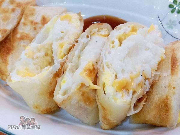 2個蛋早餐18-薯泥起司酥脆蛋餅-內餡鮮嫩綿密II