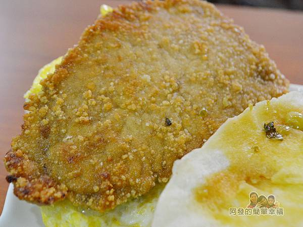 2個蛋早餐23-肉蛋饅頭-豬排