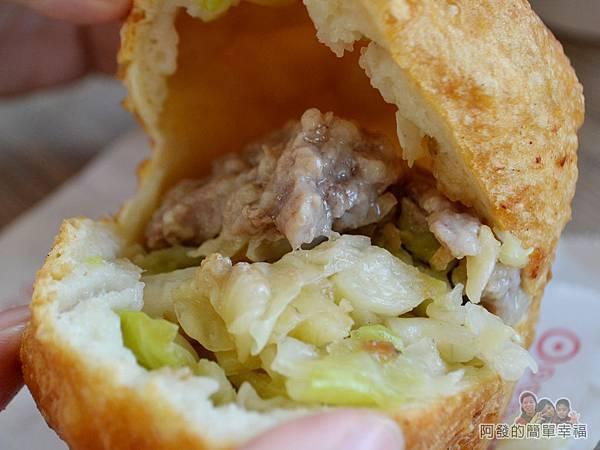 曾記餡餅21-豬肉餡餅-滿滿的餡料