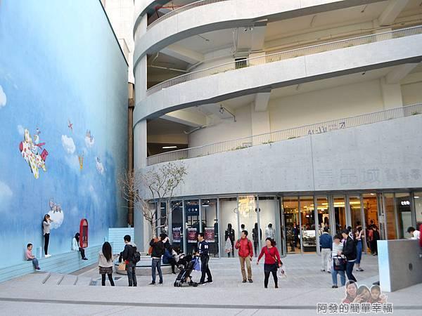 晶品城購物商場幾米03-1樓廣場-星球夢境花園