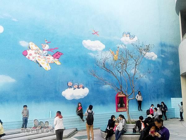 晶品城購物商場幾米05-新竹拍照打卡新地標