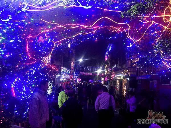 吉慶里聖誕巷05-71巷15弄燈海