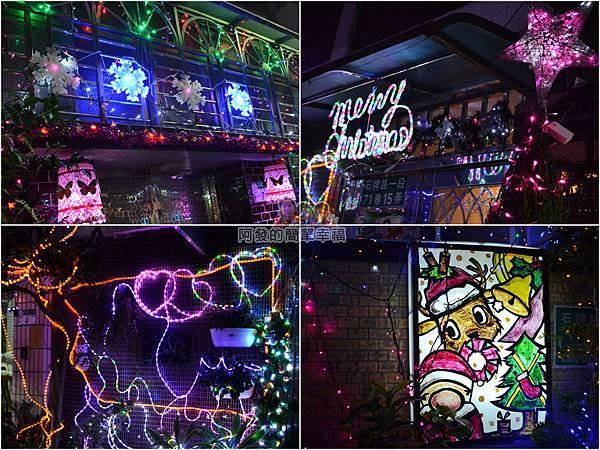 吉慶里聖誕巷09-家家戶戶應景燈飾