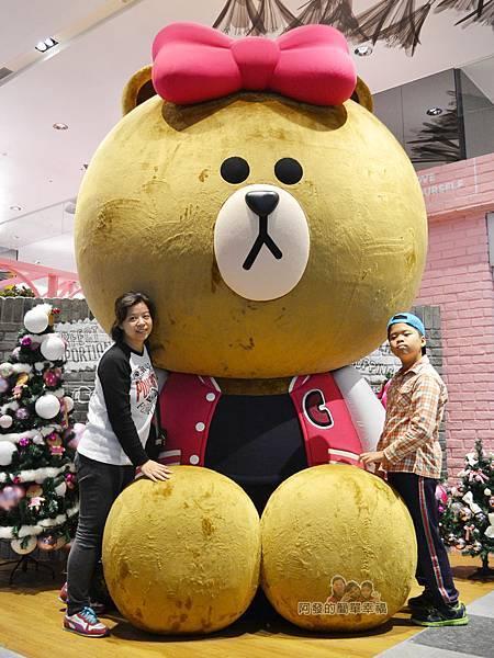 LINE專賣店01-熊大的妹妹CHOCO
