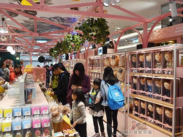 LINE專賣店04-CHOCO絨毛布偶區