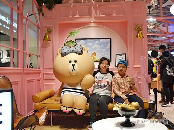 LINE專賣店06-CHOCO拍照場景II