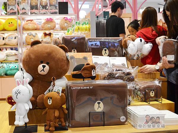 LINE專賣店17-熊大與兔兔周邊商品