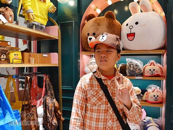 LINE專賣店22-熊大造型帽