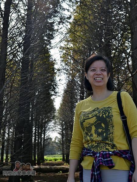 落羽松森林21-十分開心的老婆