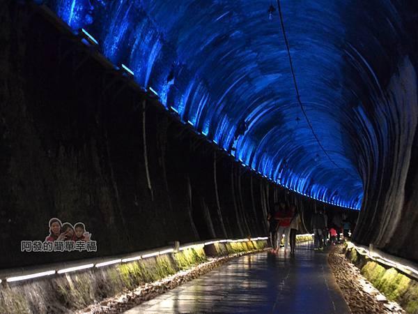 功維敘隧道18-有如走入銀河夢幻般的時光隧道