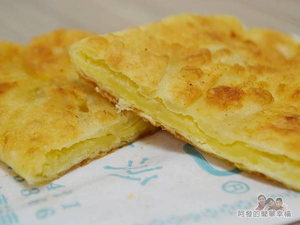 一口香餡餅21-綠豆沙餡餅切面
