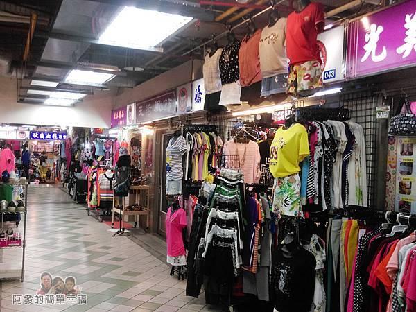 越南美食03-泰山公有市場-百貨服飾