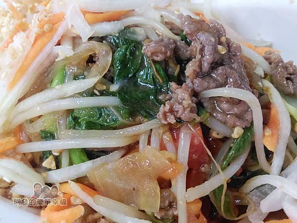 越南美食12-牛肉拌飯-炒牛肉