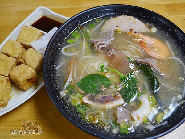 越南美食14-招牌海鮮河粉與炸豆腐