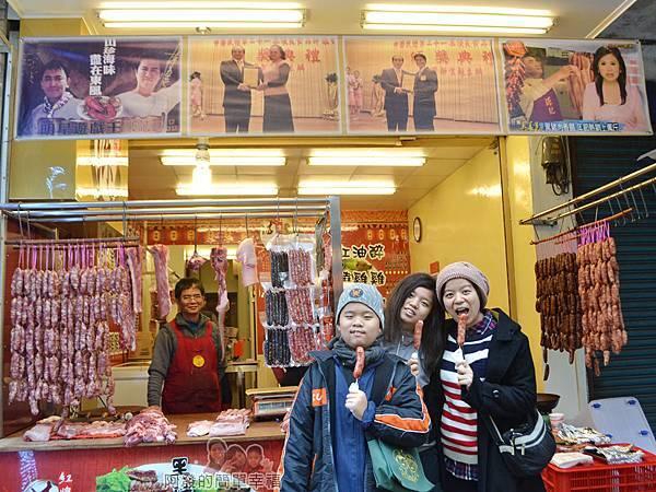 陳記紅牌黑豬肉香腸25-留影