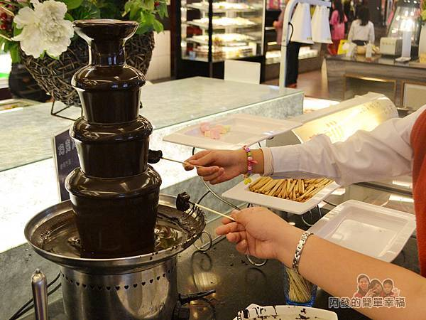 極鮮火鍋27-巧克力噴泉