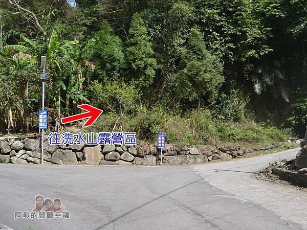 洗水坑李花祕境05-岔路往右
