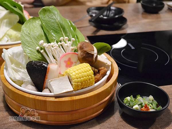 崔官木桶鍋24-菜盤