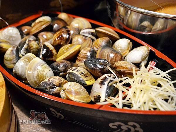 崔官木桶鍋31-大蛤蜊船