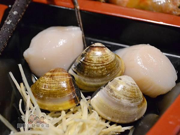崔官木桶鍋38-干貝與大蛤蜊