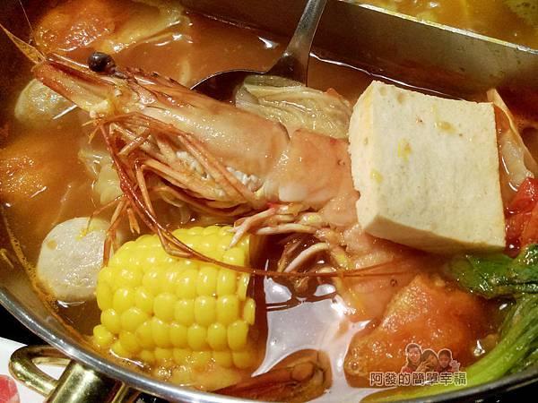 崔官木桶鍋40-好大的草蝦