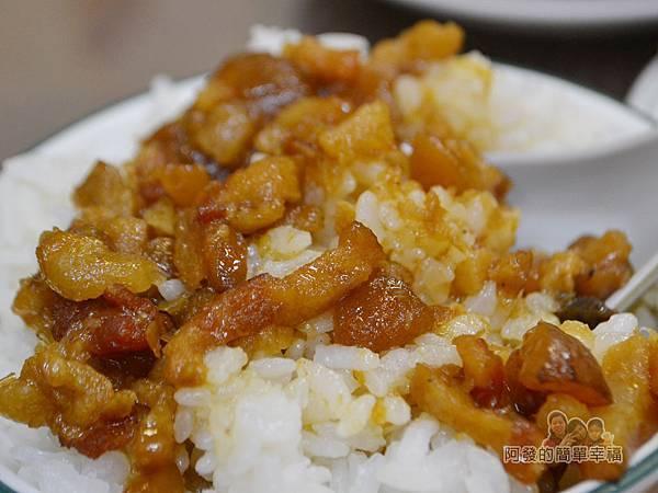 大榮肉粥17-魯肉飯(小)特寫