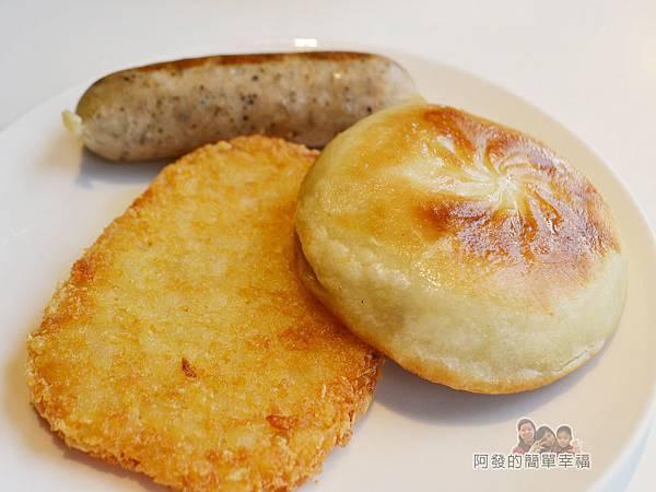 IKEA(早餐)35-薯餅餡餅瑞典肉腸