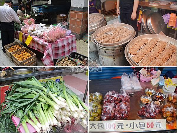 黑皮臭豆腐04-當地蔬果與傳統小吃