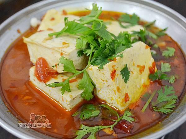 黑皮臭豆腐22-麻辣豆腐火鍋