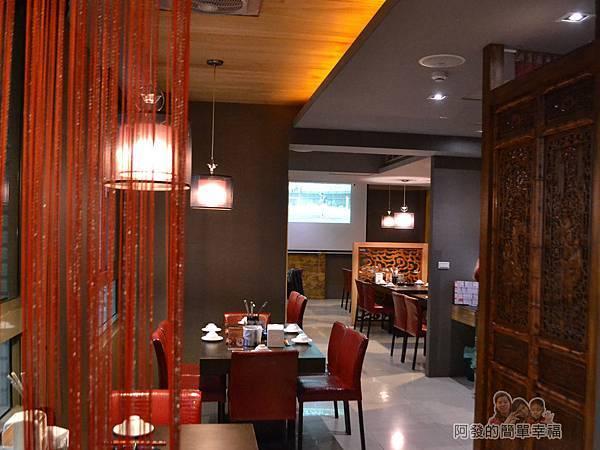 齊味麻辣鴛鴦火鍋13-3樓用餐區