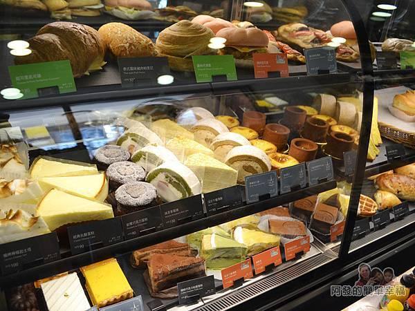 星巴克保安門市21-蛋糕櫃