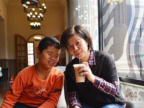 星巴克保安門市29-悠閒又愜意的午茶時光