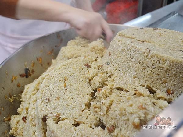 林合發油飯粿店09-油飯