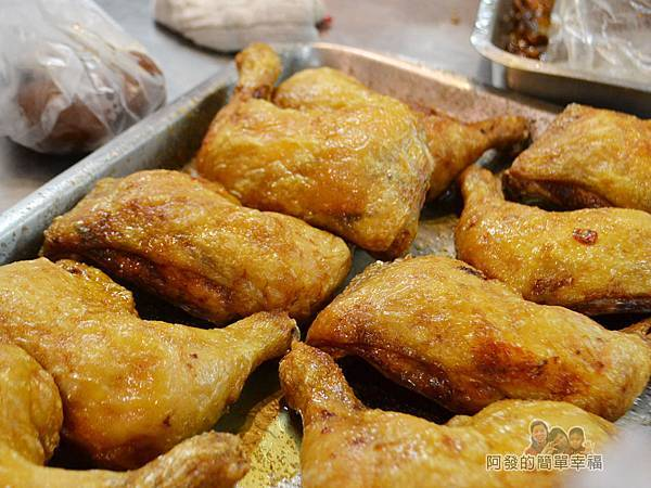 林合發油飯粿店11-炸雞腿