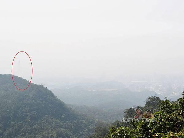 大尖山賞櫻42-可遠眺到台北市