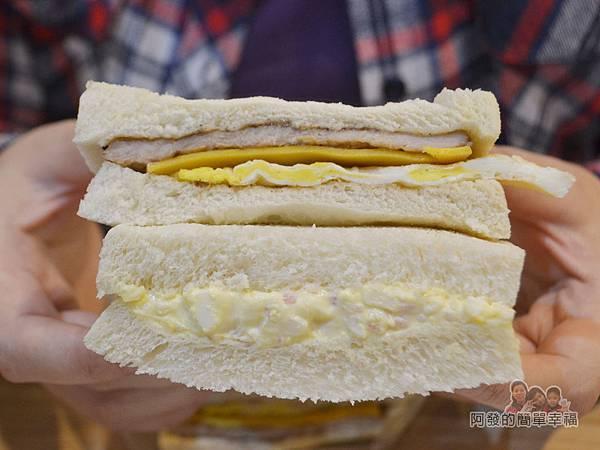 餓哥早午餐27-肉蛋與碎蛋