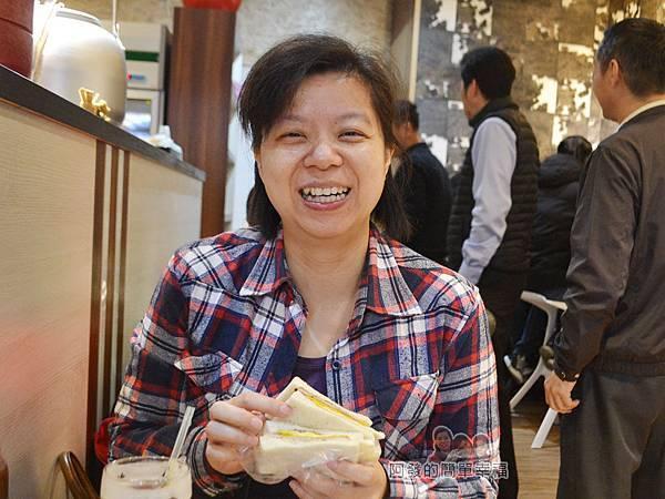 餓哥早午餐28-開心的老婆