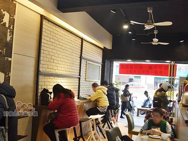 餓哥早午餐06-用餐區一景