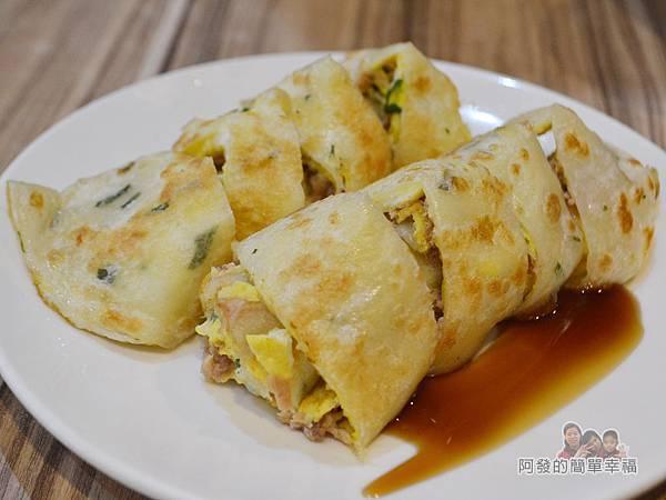 餓哥早午餐17-鮪魚蛋餅35元