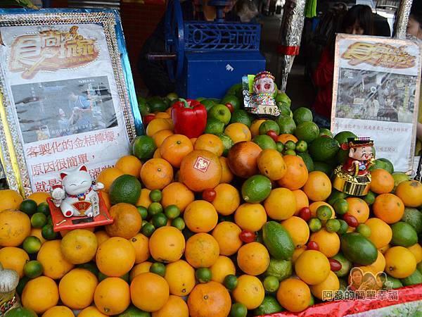 迪化街金桔檸檬汁03-攤前的柳橙