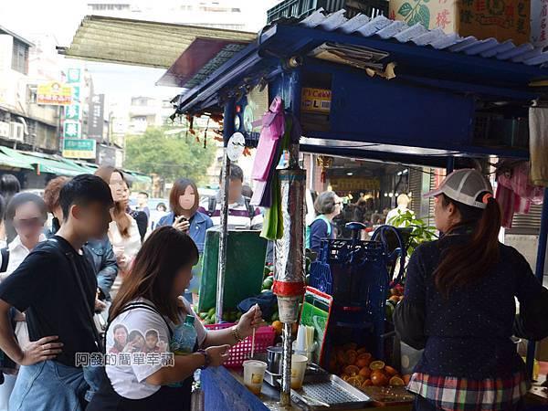 迪化街金桔檸檬汁05-傳統味的果汁攤