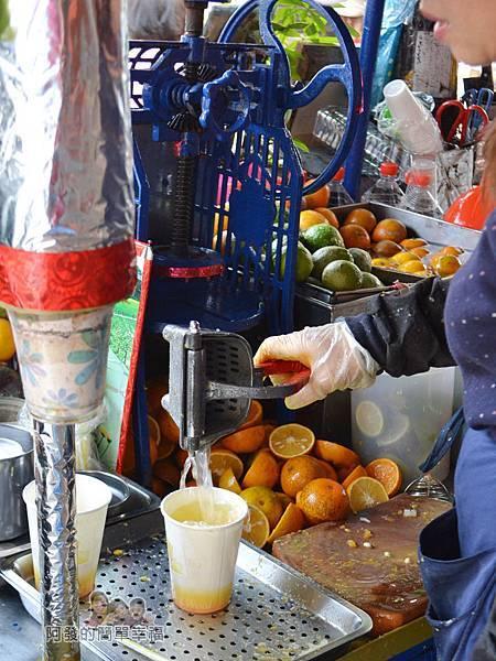 迪化街金桔檸檬汁07-新鮮現榨