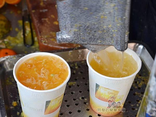 迪化街金桔檸檬汁08-新鮮現榨特寫