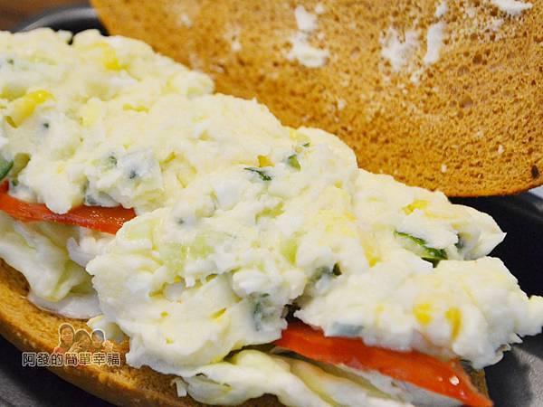 瑞比早午餐24-歐式乾酪潛艇堡(蘋果薯泥沙拉)新鮮真材實料的薯泥