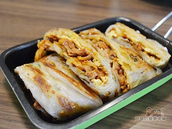 瑞比早午餐42-厚蛋餅(韓式泡菜豬)