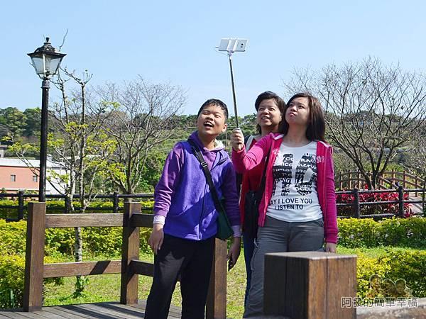三生步道13-三生公園玩自拍