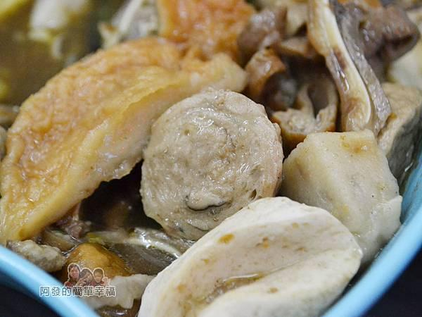 家傳秘滷32-香菇丸與手工甜不辣