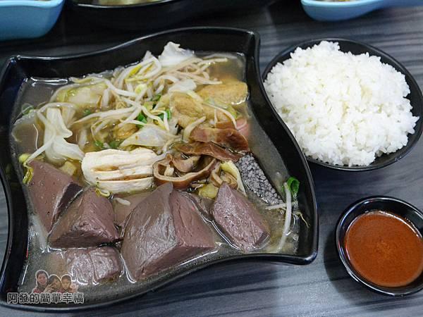 家傳秘滷19-鴨血大腸鍋